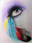 Color-feather-eye